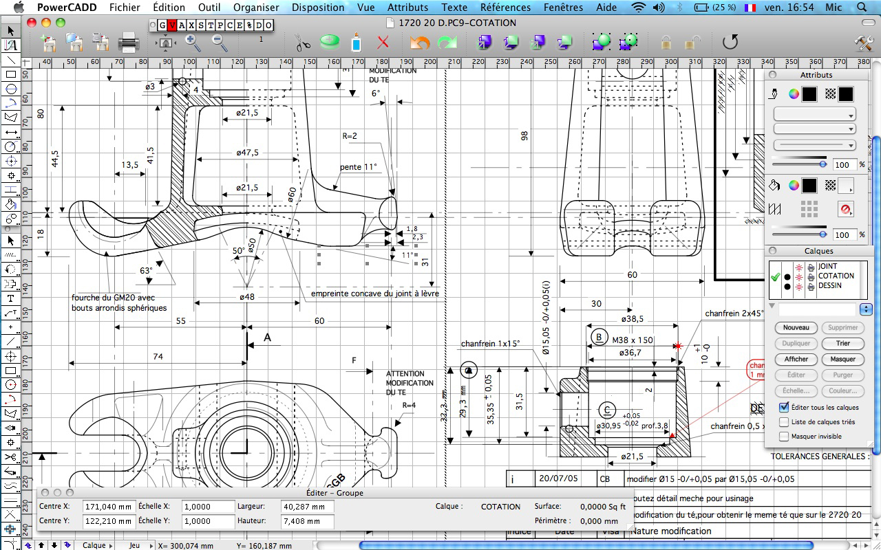 powercadd logiciel de dessin pr cis et puissant 2d sur mac osx. Black Bedroom Furniture Sets. Home Design Ideas